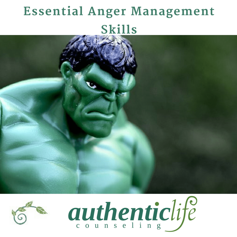 Angry Incredible Hulk Figure with Authentic Life Counseling Logo