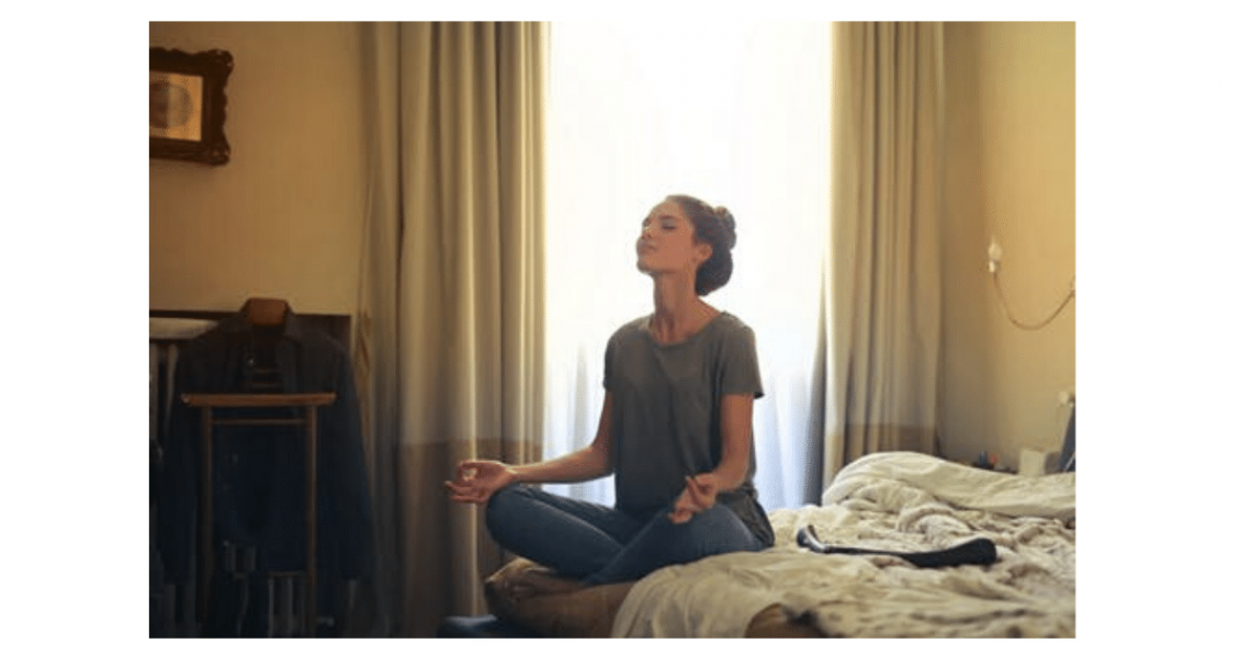 Mental Health Counseling and Psychotherapy | Suwanee, GA | Woman Meditating to alleviate anxiety and depression